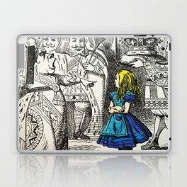 Blonde Girl Called Alice Laptop & iPad Skin