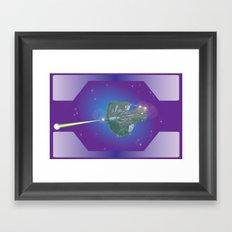 Unidentified Ship 1 Framed Art Print
