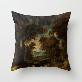 "Théodore Géricault ""Le Sommeil Des Paysans (The peasants' sleep)"" Throw Pillow"