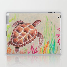Tan Sea Turtle Laptop & iPad Skin