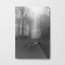 Gone Metal Print