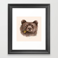 Sailor Bear II Framed Art Print