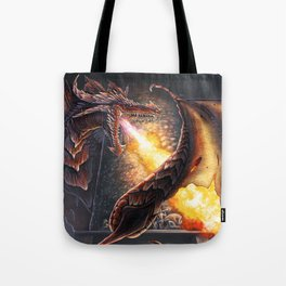 Castle Under Fire (Commission) Tote Bag