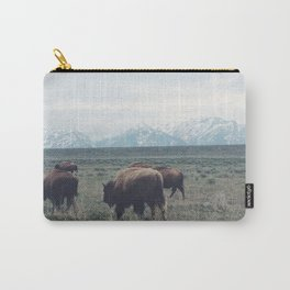 Roaming Buffalo Carry-All Pouch