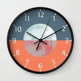 DOUBLE MOON Wall Clock