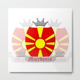 Macedonia Metal Print
