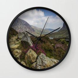 Mountain Walks Wall Clock