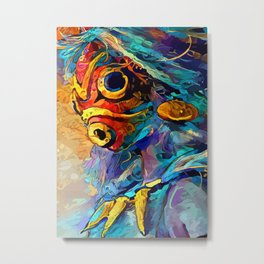 Princess of Forest Metal Print