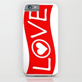 Love/Heart iPhone Case