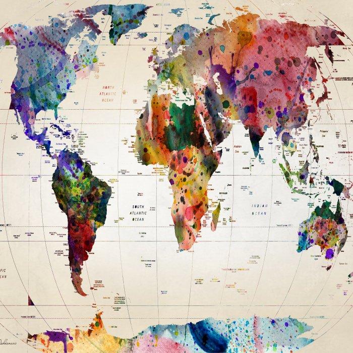 map Comforters