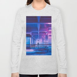 Glitchy Dreams Of You Long Sleeve T-shirt