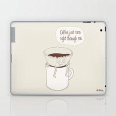 Coffee Runs Laptop & iPad Skin