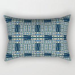 Deep Wata - Gingham Rectangular Pillow