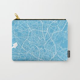Birmingham map blue Carry-All Pouch