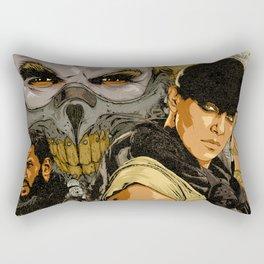 M. M. F. R. Rectangular Pillow