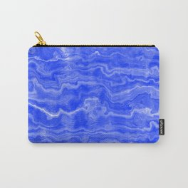 Egyptian Marble, Lapis Blue Carry-All Pouch