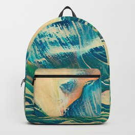 Sandy Waves Backpack