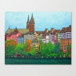 Colours of Basel Canvas Print