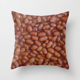 Baked Beans Pattern Throw Pillow