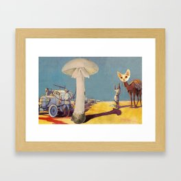 Revisiting the Future Framed Art Print