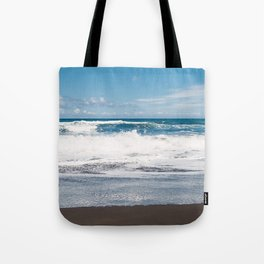 Rocking ocean Tote Bag