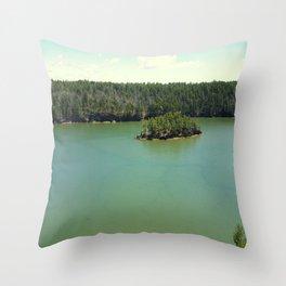The Harpswell Coast Throw Pillow