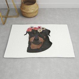 Merit the Rottweiler Rug