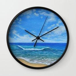 Beach Day 2 Wall Clock