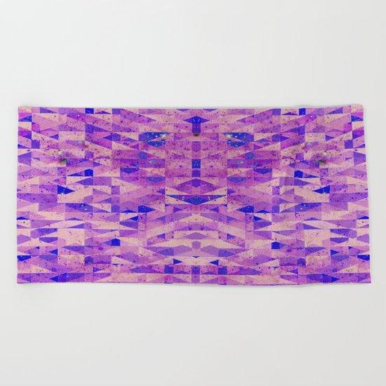 ABSTRACT TEXTURE Beach Towel