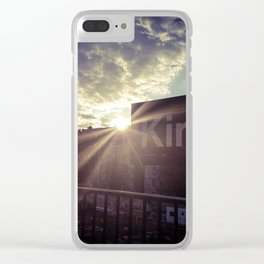 Lights in Kings Clear iPhone Case