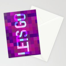 LETS GO Stationery Cards