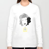marylin monroe Long Sleeve T-shirts featuring Marylin by Luigi D'Onofrio