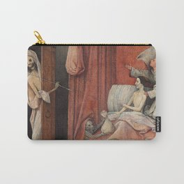 Hieronymus Bosch - Death And The Miser. Carry-All Pouch