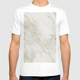 Marble Love Bronze Metallic T-shirt