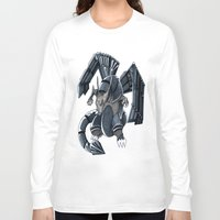 charizard Long Sleeve T-shirts featuring Meta Charizard by VictorVieitez