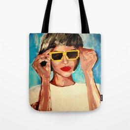 Pixel Sunglasses 02 Tote Bag
