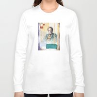 gustav klimt Long Sleeve T-shirts featuring Gustav Mahler by G_Stevenson