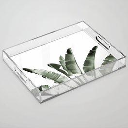 Traveler palm Acrylic Tray
