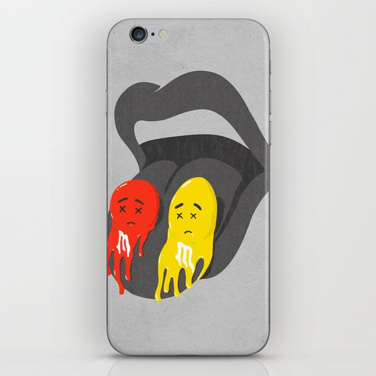 Melts in your mouth iPhone & iPod Skin