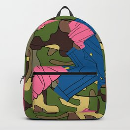 Army Girl Clothing Backpack