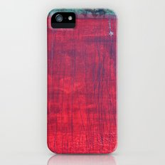 RED iPhone (5, 5s) Slim Case