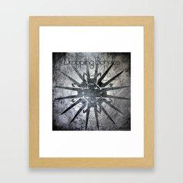 Swirly Mandala3 Framed Art Print