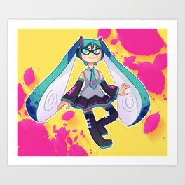 Voca Inkling Art Print