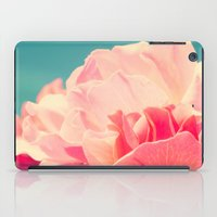 shabby chic iPad Cases featuring Shabby Chic Rose Photograph by Scarlett Ella