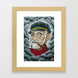 Old Sailor Framed Art Print