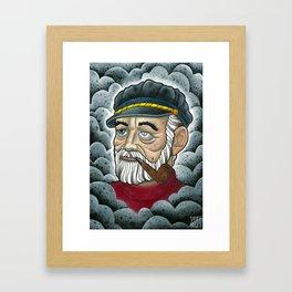 Old Sailor Framed Art Print