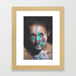 Colors of Women, J.F. Framed Art Print