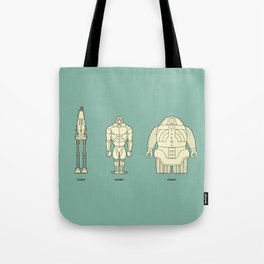 Botty Types Tote Bag