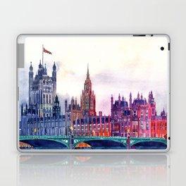 Sunset in London Laptop & iPad Skin