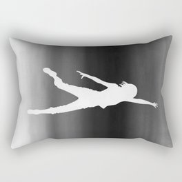 Body Movin - Touch the Sky B&W Inverse Rectangular Pillow